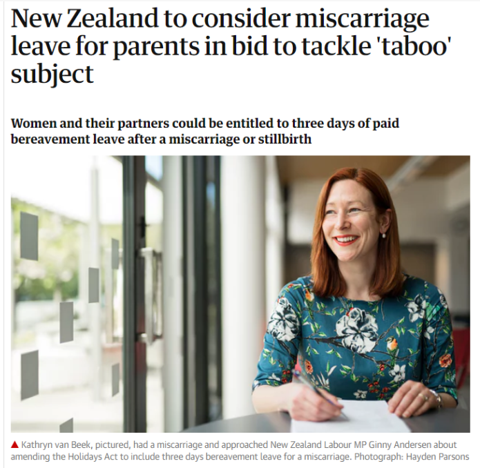 TheGuardian MiscarriageLeave