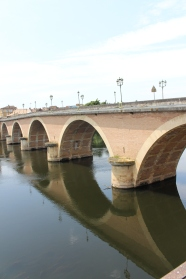 Bridge across the Dordogne River